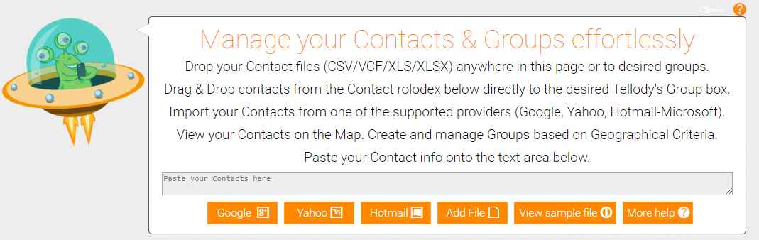 Contact Click for Help
